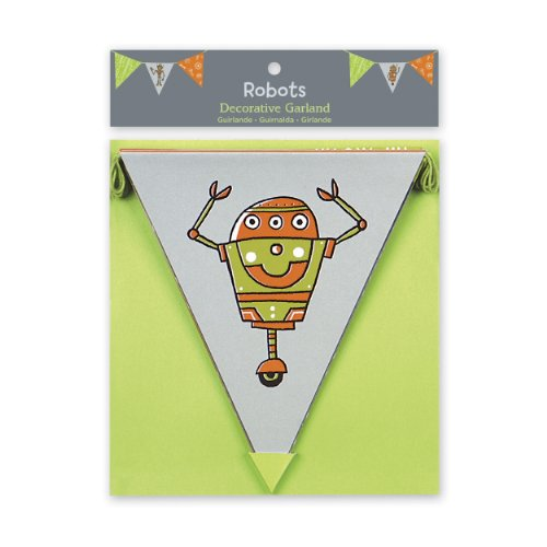 9780735334762: Robots Decorative Garland