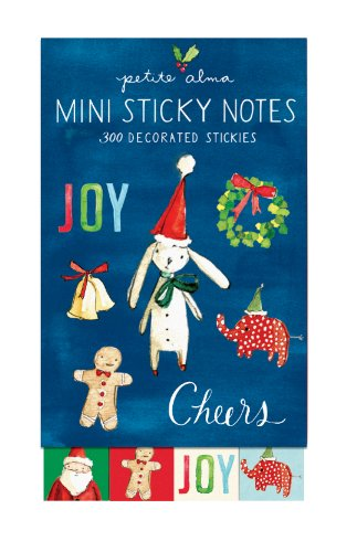 9780735334809: Petite Alma Holiday Cheer Mini Sticky Notes