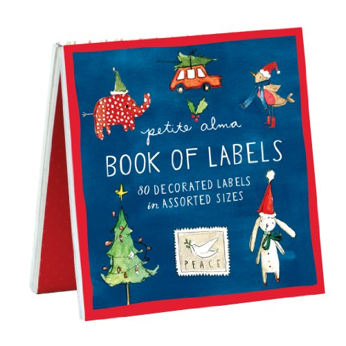 9780735334816: Petite Alma Holiday Cheer Book of Labels