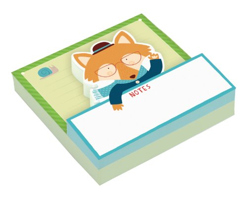 9780735334908: Mr. Fox Shaped Memo Pads