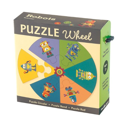 9780735335134: Robots Puzzle Wheel