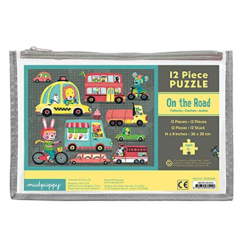 9780735335158: On the Road 12 Piece Puzzle
