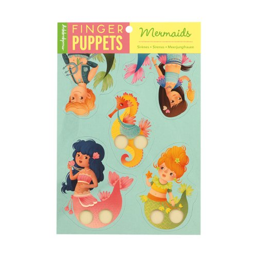 9780735335264: Mermaids Finger Puppets
