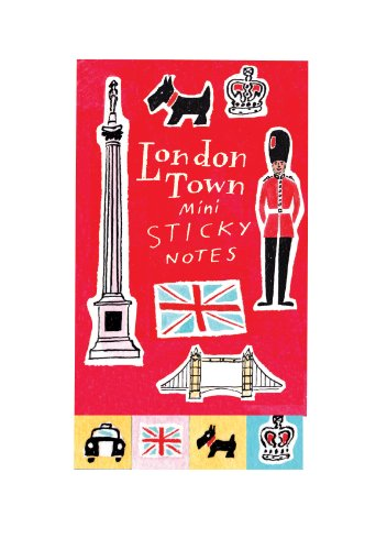 9780735335622: London Town Mini Sticky Notes