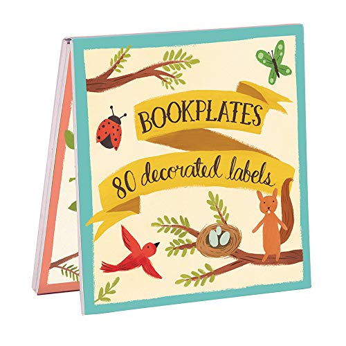 9780735336292: Forest Friends Bookplates - Book of Labels