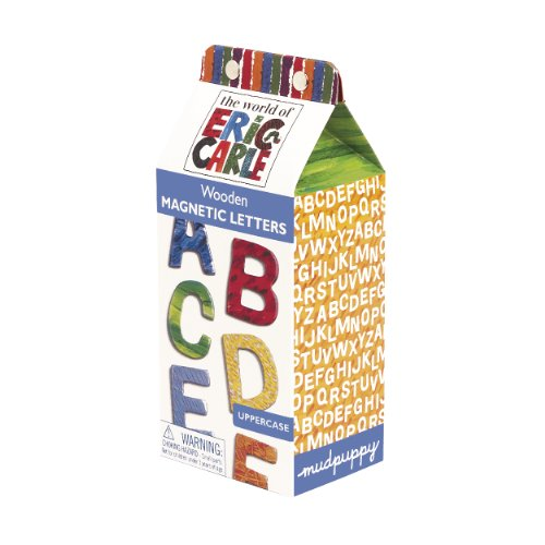 9780735336391: Eric Carle Uppercase Wooden Magnetic Letters (Very Hungary Caterpillar Early Learning System)