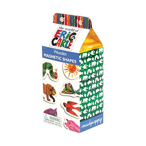 9780735336414: Eric Carle Wooden Magnetic Shapes