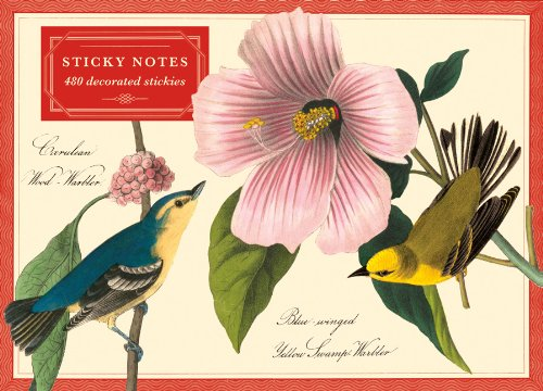 9780735336445: Audubon Warblers Sticky Notes