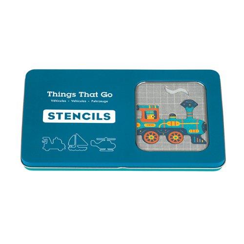 9780735336544: Things That Go Stencils