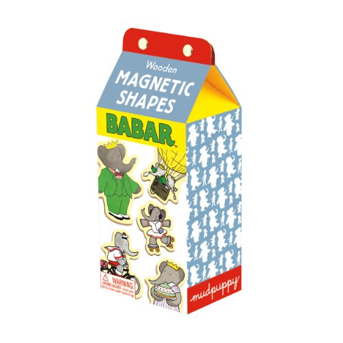 9780735336636: Babar Wooden Magnetic Shapes