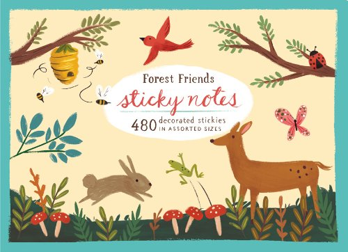 9780735336643: Forest Friends Sticky Notes