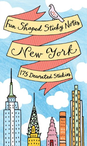 9780735336728: New York Fun Shaped Sticky Notes