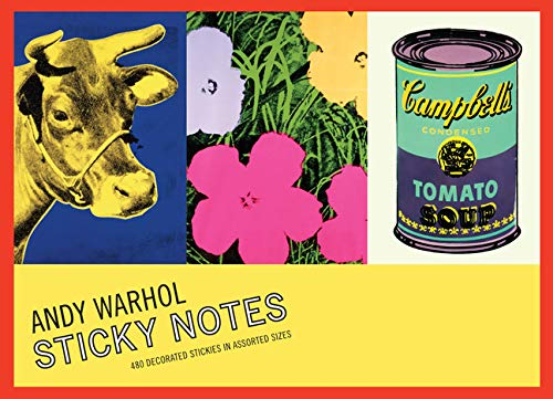 9780735336759: Andy Warhol's Greatest Hits Sticky Notes