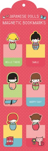 9780735336810: Japanese Dolls Magnetic Bookmark. 6 Exemplare