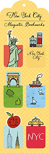 9780735336858: New York City Magnetic Bookmarks