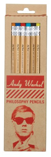 9780735337008: Warhol Philosophy Pencil Set