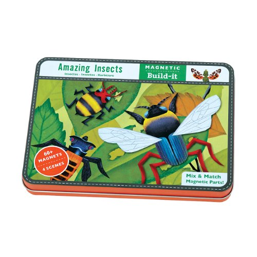 9780735337022: Amazing Insects Magnetic Build-It