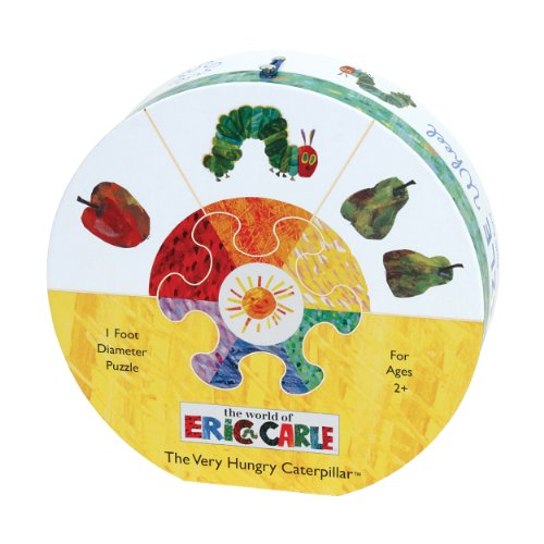 9780735337039: Eric Carle the Very Hungry Caterpillar Deluxe Puzzle Wheel