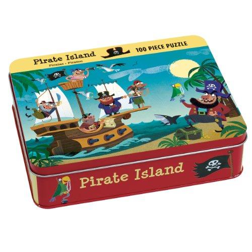 9780735337077: Mudpuppy - Puzzle coleccionable, diseño de isla pirata (MPPM37077)