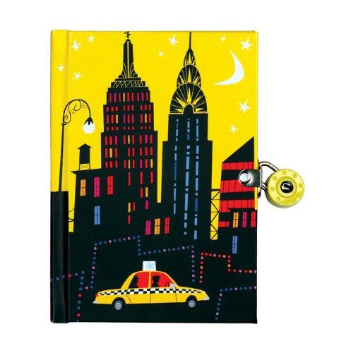 9780735337329: New York City Locked Diary