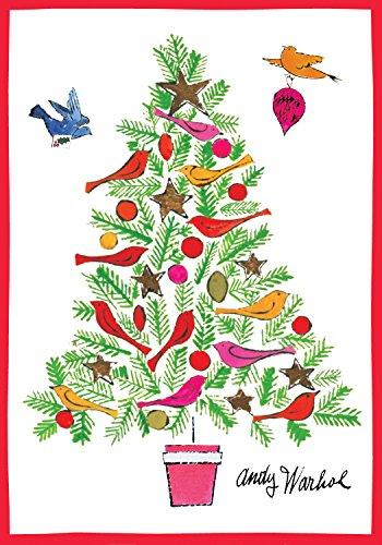 9780735337817: Andy Warhol Christmas Tree Boxed Holiday Half Notecards