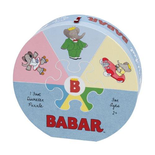 Mudpuppy Babar Deluxe Puzzle Wheel: Mudpuppy