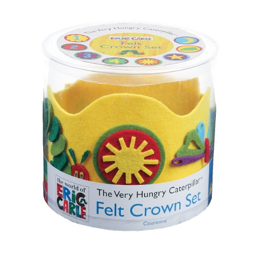 9780735338104: The World of Eric Carle(tm) the Very Hungry Caterpillar(tm) Felt Crown Set