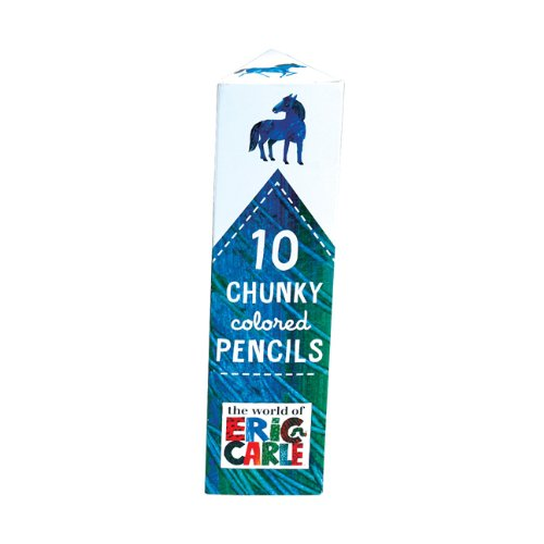 9780735338142: 10 Chunky Colored Pencils