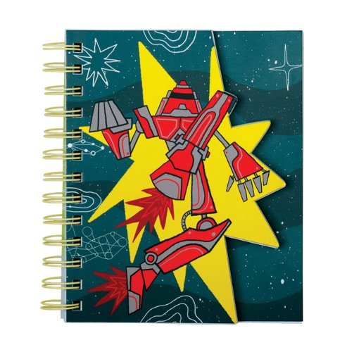 9780735338272: Robot Power Layered Journal
