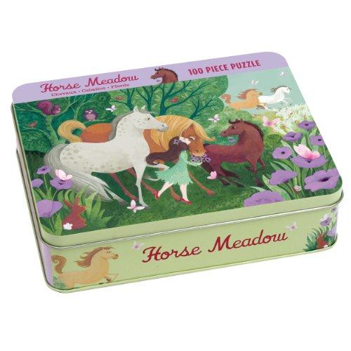 9780735338395: Mudpuppy - Puzzle coleccionable caballos en prado (MPPM38395)