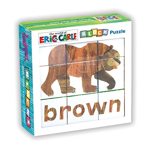 9780735338579: Eric Carle Brown Bear, Brown Bear, What Do You See? Block Puzzle