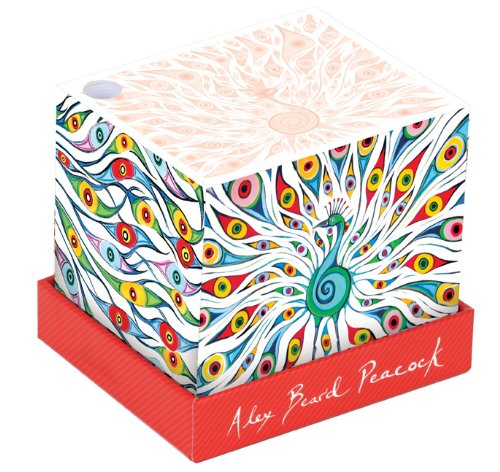 9780735338685: Alex Beard Peacock Memo Block