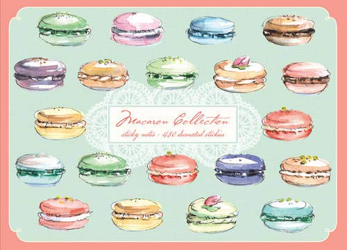 9780735338722: Macaron Sticky Notes: 480 stickies total, 60 per pad
