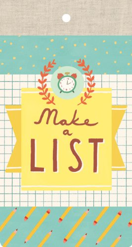9780735338814: Make a List List Pad: 60 perforated sheets