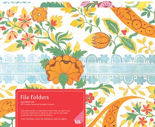 9780735338982: V&A Spitalfields Silk File Folders
