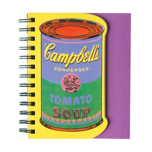 Andy Warhol Soup Can Layered Journal: Warhol, Andy (Contributor)