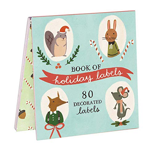 9780735339101: Holiday Forest Friends Labels