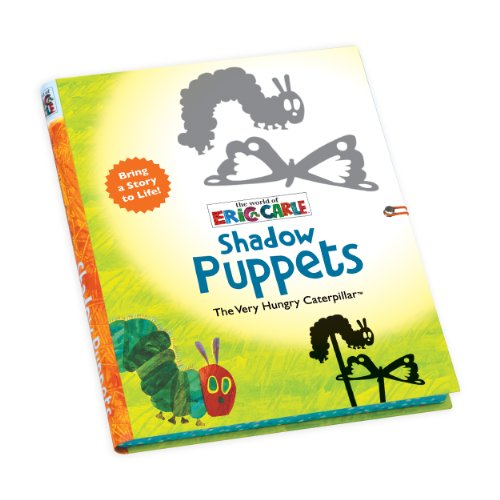 Mudpuppy Eric Carle The Very Hungry Caterpillar Shadow Puppets