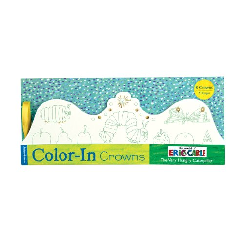 The Very Hungry Caterpillar Color-In Crowns