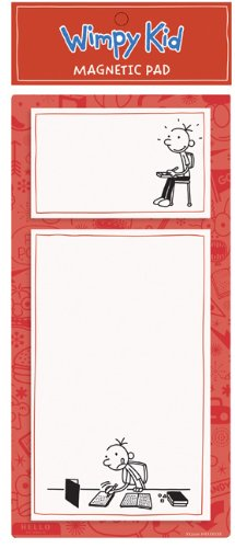 9780735339323: Diary of a Wimpy Kid Red Magnetic Pad