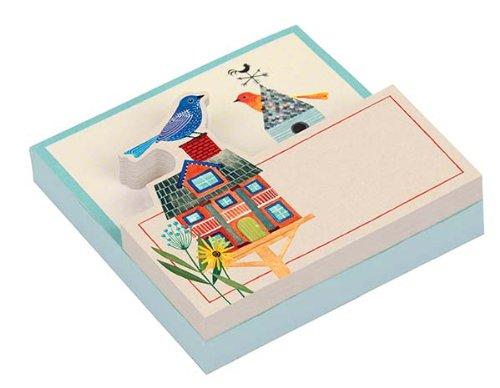 9780735339927: Avian Friends Birdhouse Shaped Pad