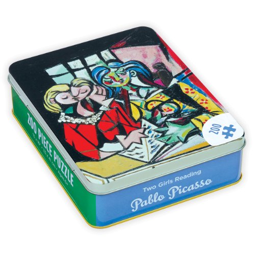 9780735340015: Pablo Picasso Two Girls Reading (Jigsaw Puzzle in Tin 200 Piece)