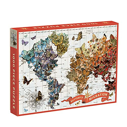 9780735340084: Wendy Gold Butterfly Migration 1000 Piece Puzzle (Jigsaw Puzzle)