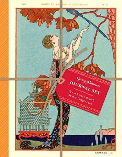 9780735340145: The Art & Fashion of George Barbier Petite Journal Set