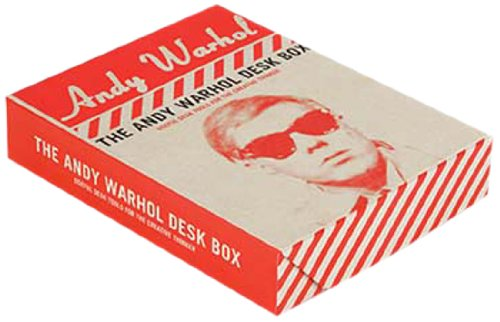9780735340244: Andy Warhol Desk Box: Useful Desk Tools for the Creative Thinker