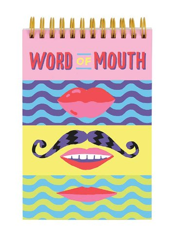 9780735340251: Word of Mouth Lenticular Notepad