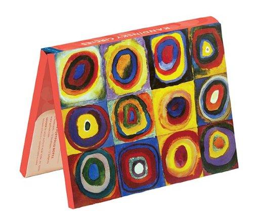 9780735340299: Kandinsky Circles Portfolio Notes (Notecards)
