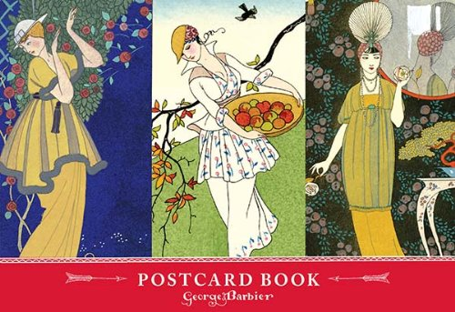9780735340312: The Art & Fashion of George Barbier Postcard Book (Postcards)