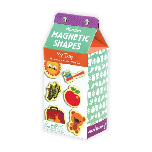 9780735340589: My Day Wooden Magnetic Shapes