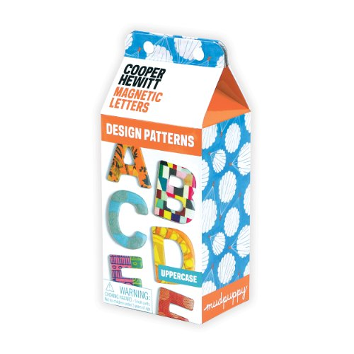 9780735340657: Cooper Hewitt: Design Patterns Uppercase Wooden Magnetic Letters
